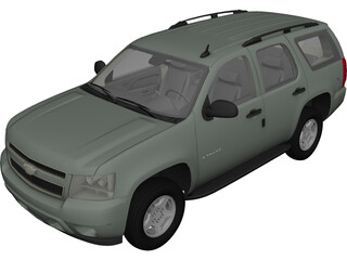 Chevrolet Tahoe (2007) 3D Model
