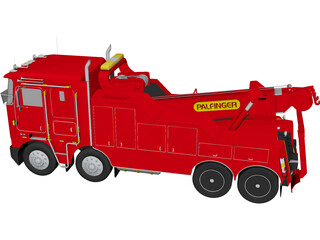 Kenworth Palfinger 3D Model