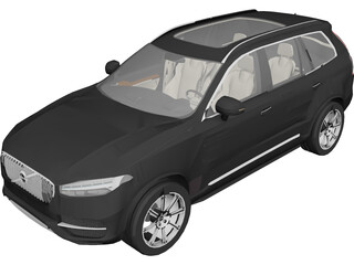 Volvo XC90 (2015) 3D Model 3D Preview