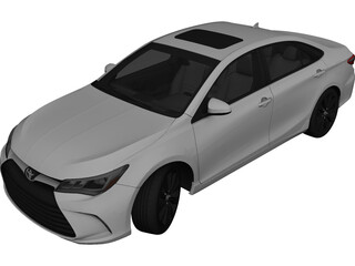 Toyota Camry (2015) 3D Model