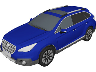 Subaru Outback 3D Model 3D Preview