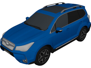 Subaru Forester 3D Model 3D Preview
