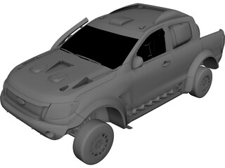 Ford Ranger Rally 3D Model