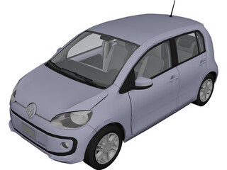 Volkswagen UP (2016) 3D Model