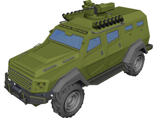 COBRA II - URAL 3D Model