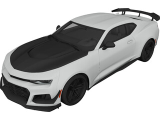 Chevrolet Camaro ZL1 1LE (2018) 3D Model