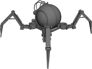 Mechanical Spider Robot 3D Model