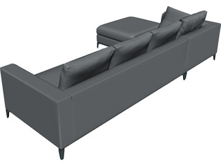 Minotti Anderson Sofa 3D Model