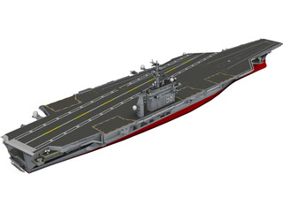 USS Gerald R. Ford 3D Model 3D Preview