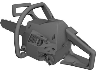 Chainsaw CAD 3D Model