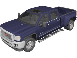 GMC Sierra HD (2015) 3D Model