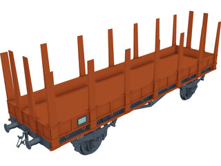 Wagon Stanchion 3D Model