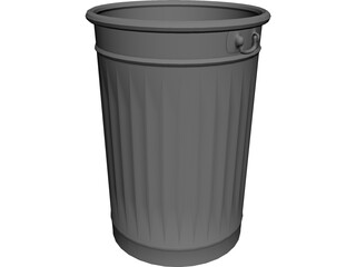 Dustbin 3D Model