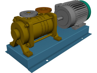 Pompetrevaini TBH 200 Pump 3D Model