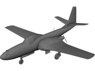 FH-1 Phantom 3D Model