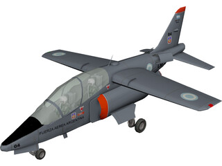 FMA IA-63 Pampa 3D Model 3D Preview