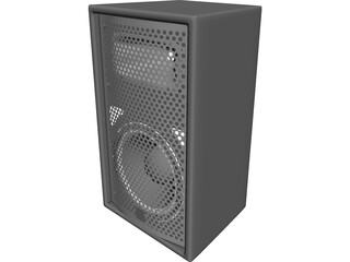 JBL Venue Sound Club Speaker 3D Model