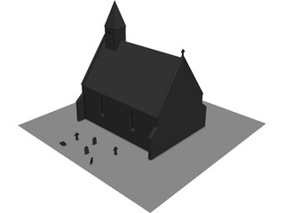 Scotish Chapel 3D Model