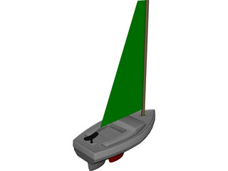 Vacuum Formed Model Boat 3D Model
