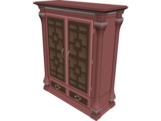 Bedroom Armoire 3D Model
