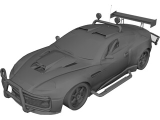 Aston Martin Road Warrior 3D Model