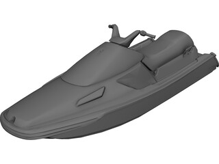 Seadoo 3D Model 3D Preview
