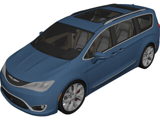 Chrysler Pacifica (2017) 3D Model