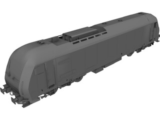 ER20 Locomotive 3D Model