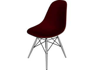 Eames DSW Chair 3D Model