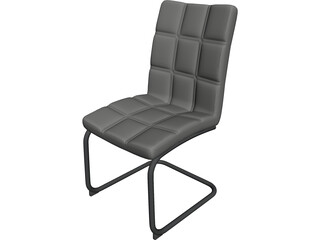 Soft Business Chair 3D Model