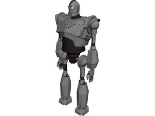 Iron Giant 3D Model 3D Preview