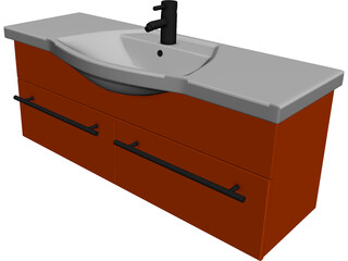 Kitchen Sink Moushan 3D Model