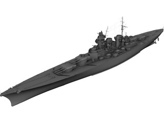 SMS Grosser Kurfurst 3D Model