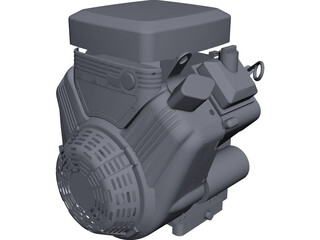 Briggs&Stratton Vanguard 18hp CAD 3D Model