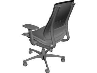 Herman Miller Celle Chair CAD 3D Model