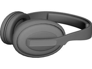 Sennheiser HD202 3D Model