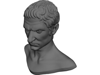 Statue of Caesar 3D Model