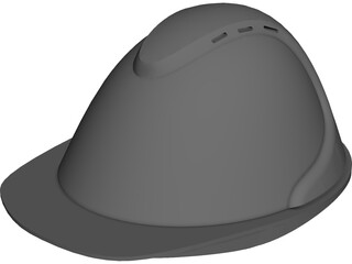 Security Helmet CAD 3D Model