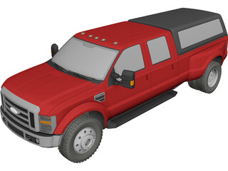 Ford F450 Super Duty 3D Model