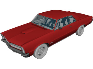 Pontiac Lemans (1965) 3D Model