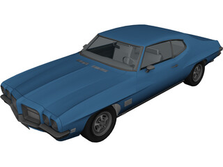Pontiac Lemans (1971) 3D Model