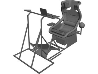 Playseat CAD 3D Model