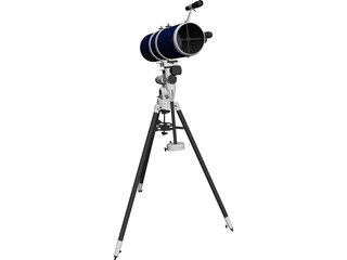 Electronic Telescope 3D Model