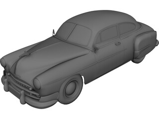 Chevrolet Fleetline (1942) 3D Model