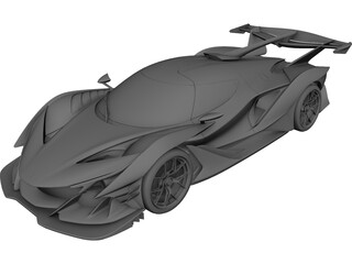 Gumpert Apollo Intensa Emozione (2019) 3D Model