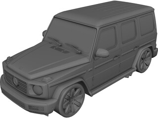Mercedes-Benz G-Class (2019) 3D Model