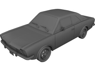 Ford Corcel GT (1975) 3D Model 3D Preview