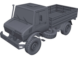 Mercedes-Benz Unimog 1300L CAD 3D Model
