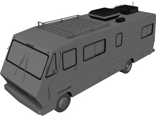 Fleetwood RV Motorhome 3D Model