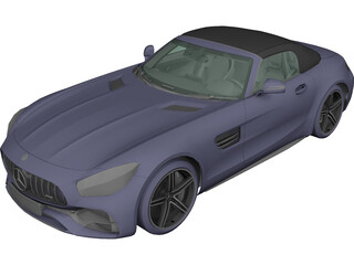 Mercedes-Benz GT-C Roadster 3D Model